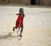 tuareg boy with hoop